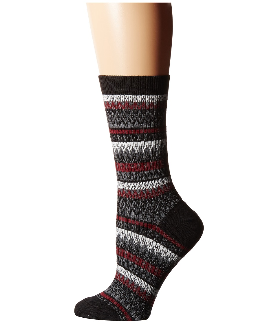 Cole Haan - Fair Isle Crew (Black) Women