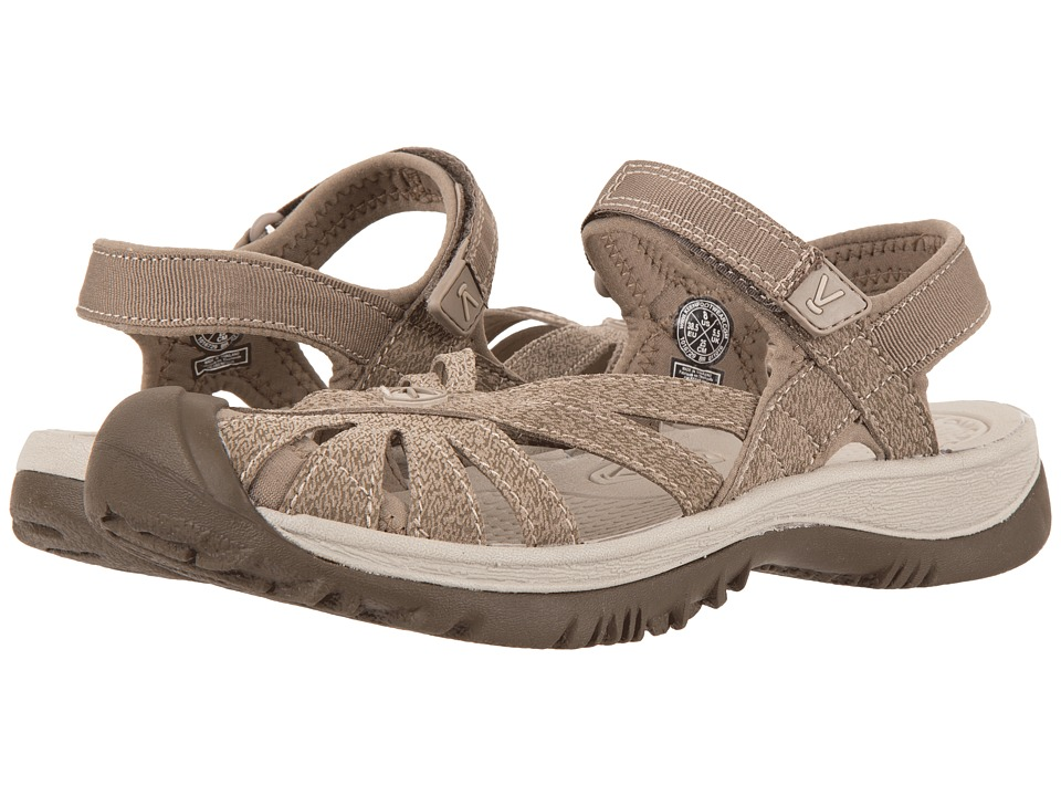 Keen Rose Sandal (Brindle/Shitake) Women's Shoes