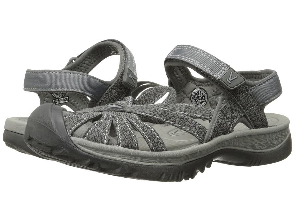 Keen Rose Sandal (Gargoyle/Raven) Women's Shoes