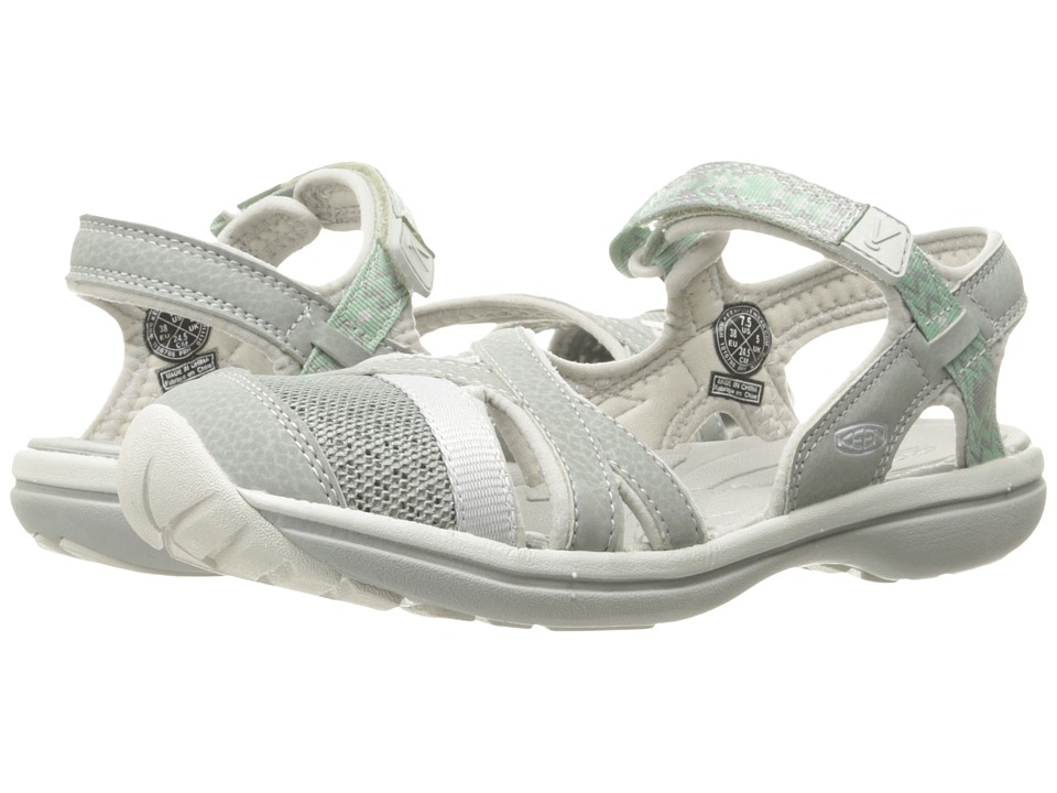 Keen Sage Ankle (Neutral Gray/Malachite) Women
