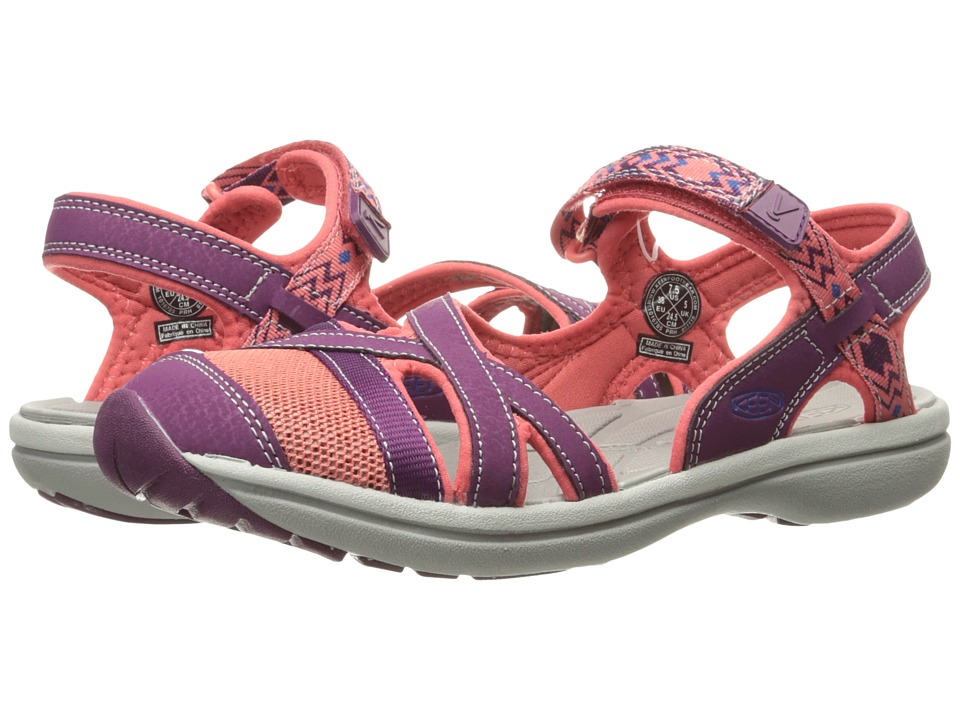 Keen Sage Ankle (Dark Purple/Deep Coral) Women