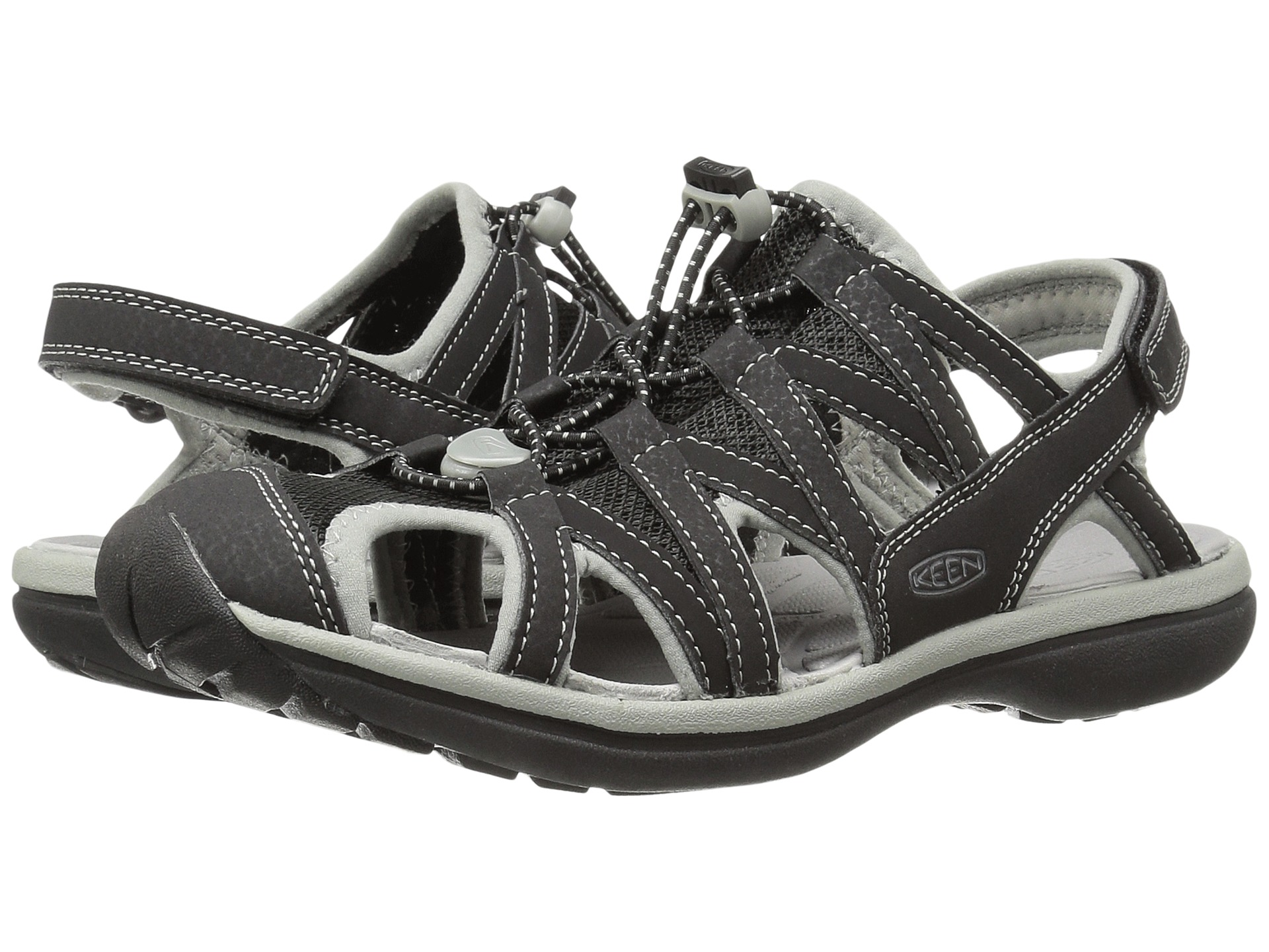 Black sandals closed toe - View More Like This Keen Sage Sandal