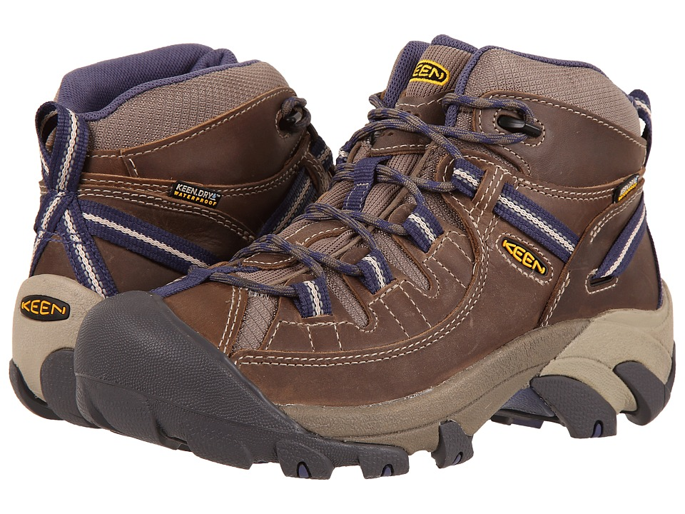 Keen Targhee II Mid Waterproof (Goat/Crown Blue) Women