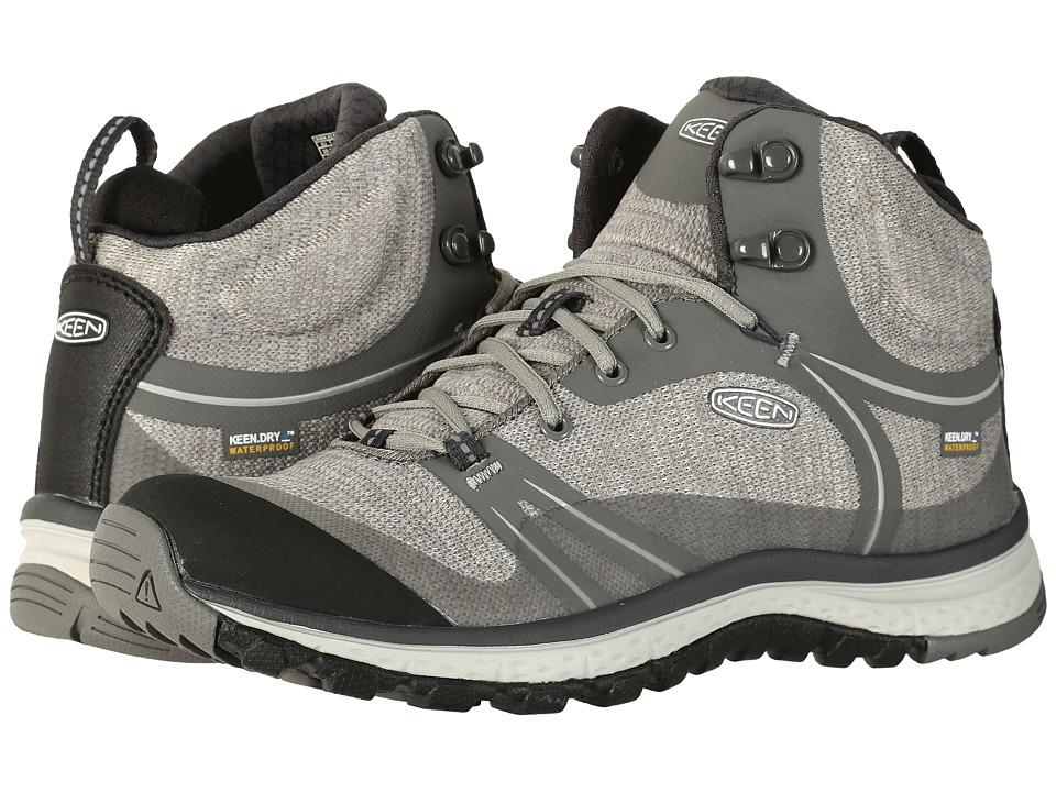 Keen Terradora Mid Waterproof (Gargoyle/Magnet) Women's Shoes