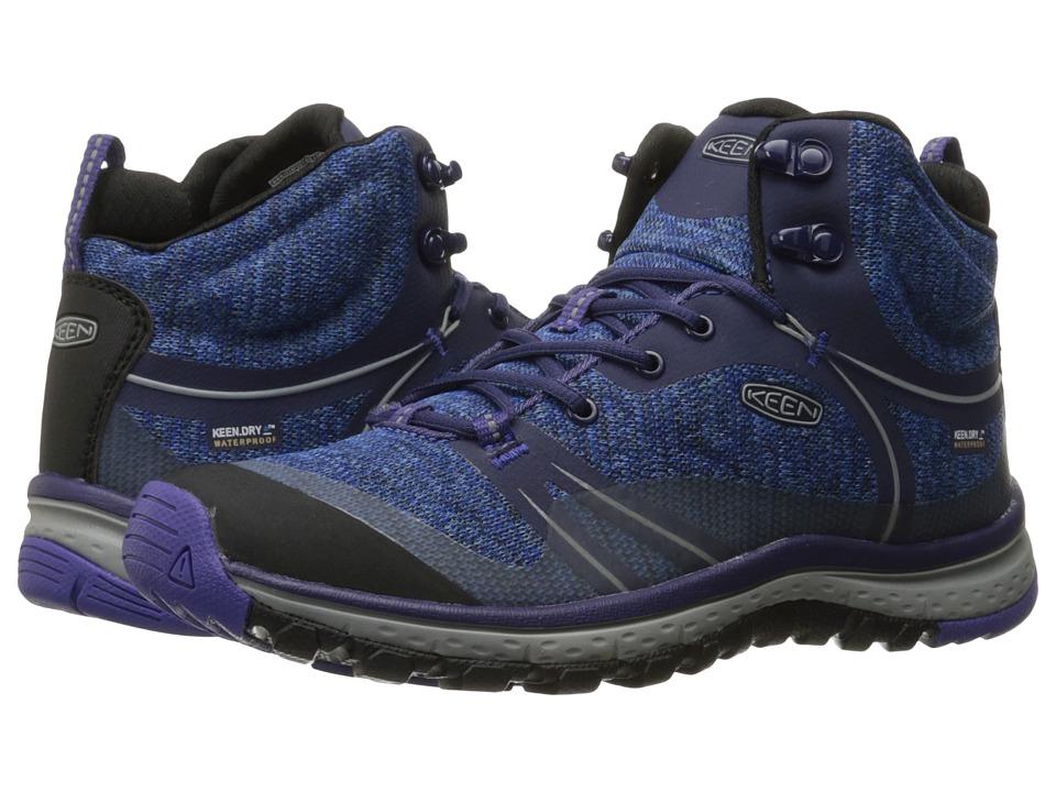 Keen Terradora Mid Waterproof (Astral Aura/Liberty) Women's Shoes