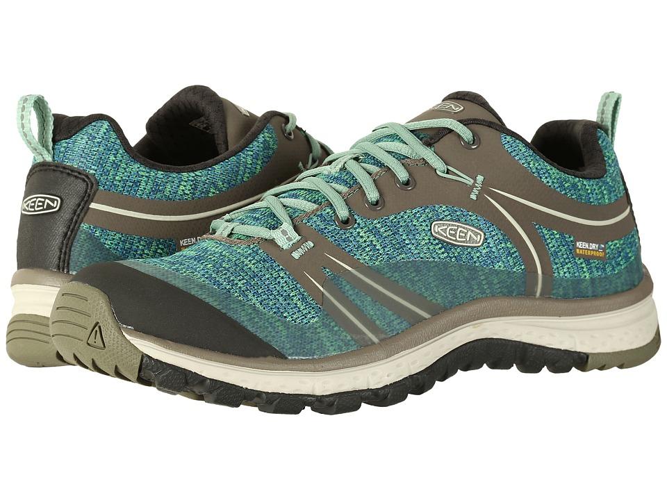 Keen Terradora Waterproof (Bungee Cord/Malachite) Women's Shoes