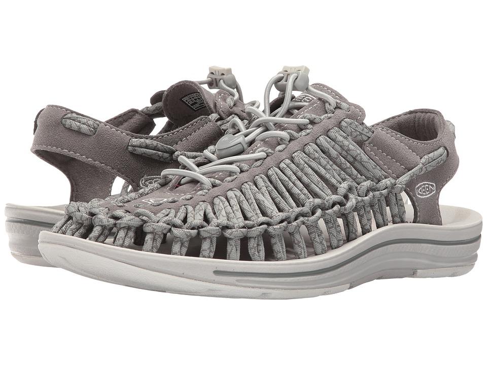 Keen Uneek (Neutral Gray/Gargoyle) Women's Toe Open Shoes