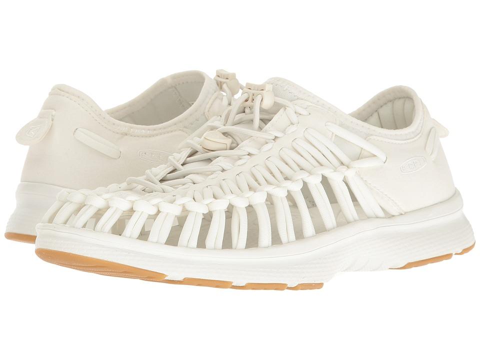 Keen Uneek O2 (White/Harvest Gold) Women's Shoes