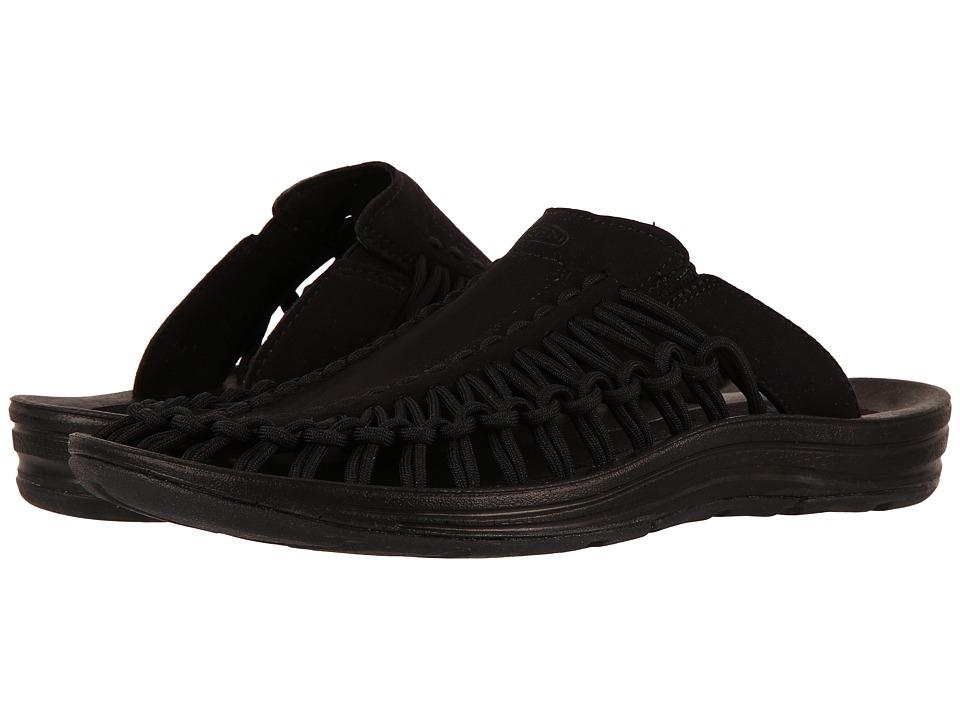 Keen Uneek Slide (Black/Black) Women's Shoes