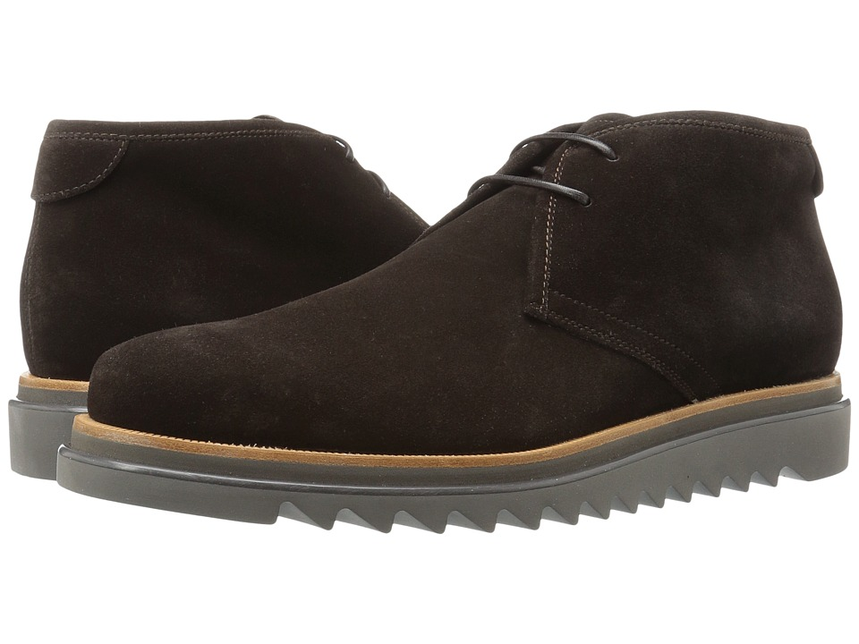 Salvatore Ferragamo Lagos Boot (New Chocolate) Men