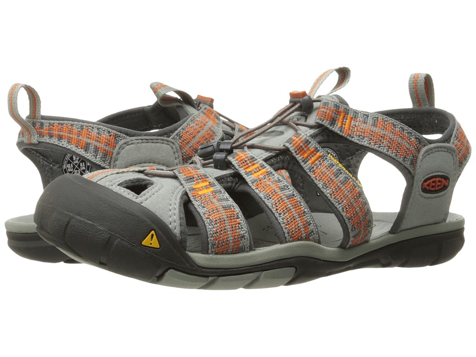 Keen - Clearwater CNX (Neutral Gray/Burnt Ochre) Mens Shoes