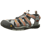 Image of Keen - Clearwater CNX (Neutral Gray/Burnt Ochre) Men's Shoes
