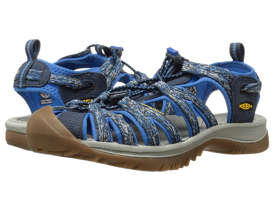 Keen Whisper (Midnight Navy/French Blue) Sandals