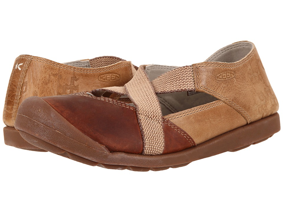 Keen Lower East Side MJ (Red Brown/Powder) Women's Shoes