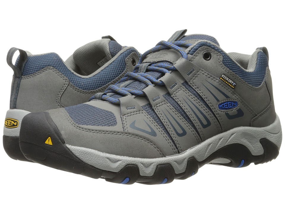 Keen Oakridge Waterproof (Gargoyle/Midnight Navy) Men
