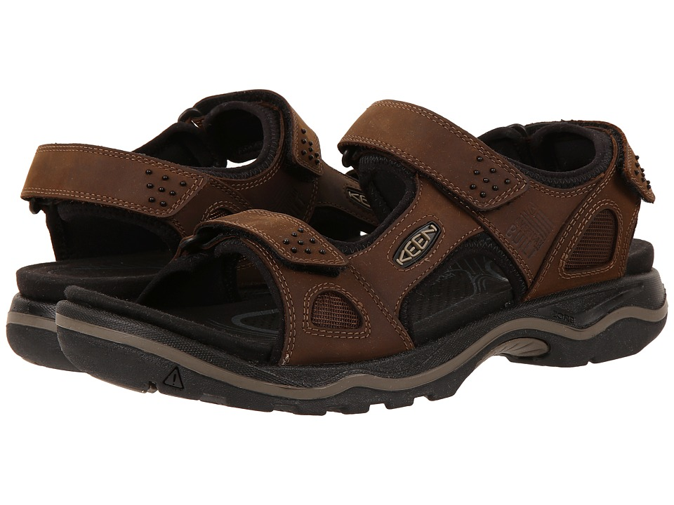 Keen Rialto 3 Point (Dark Earth/Black) Men's Shoes
