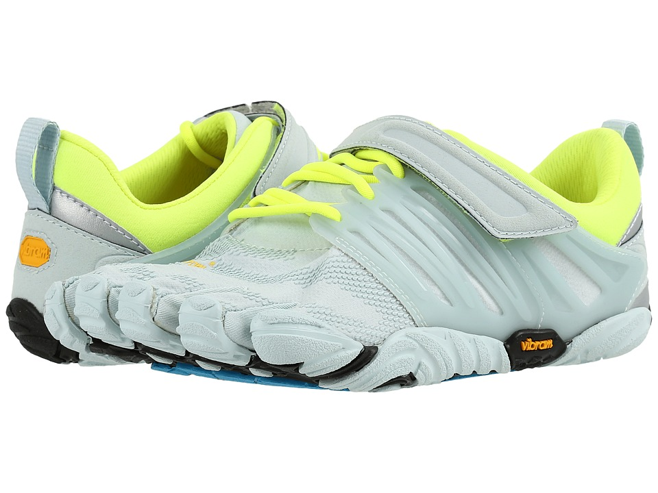 Vibram FiveFingers V-Train (Pale Blue/Safety Yellow) Women