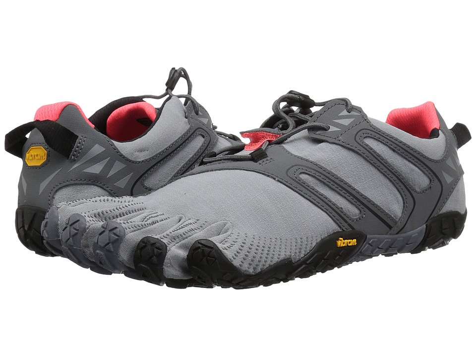 Vibram Fivefingers V-Trail (Grey/Black/Orange) Women's Shoes