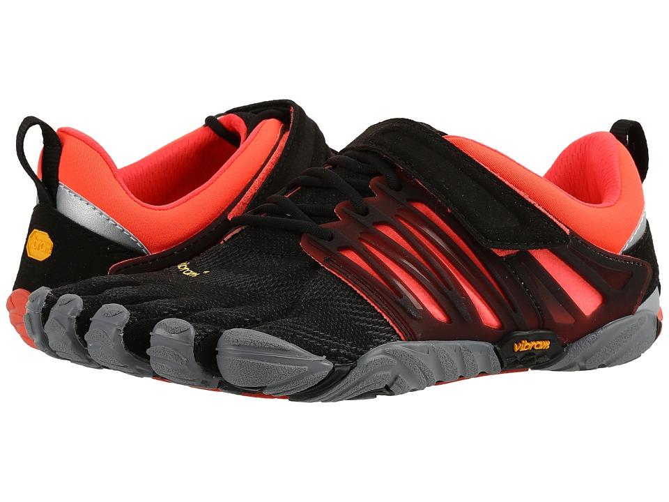 Vibram FiveFingers V-Train (Black/Coral/Grey) Women's Shoes