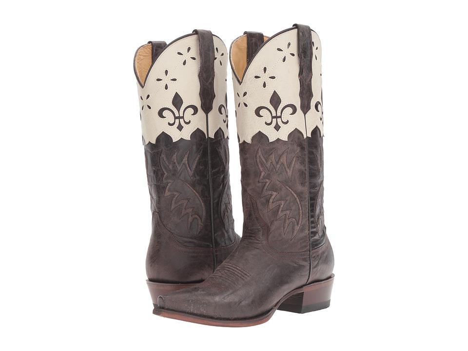 Stetson Harper (Brown Goat) Cowboy Boots