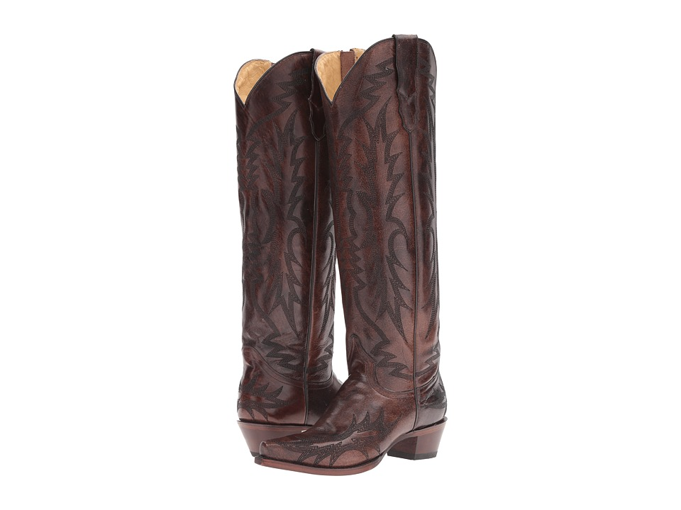 Stetson Riley (Brown) Cowboy Boots