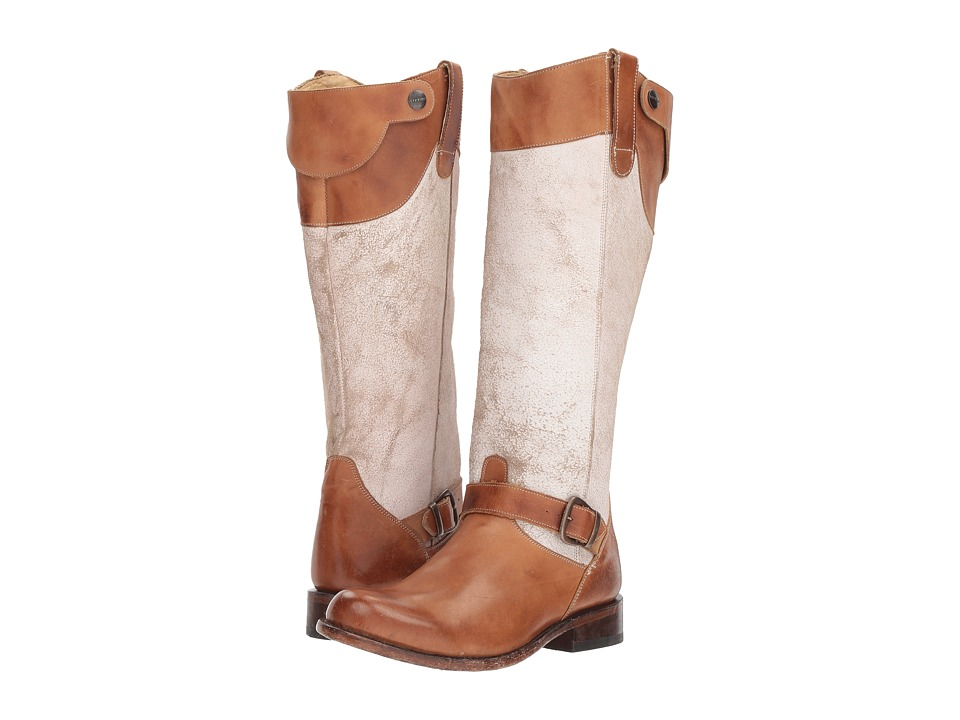 Stetson Mia (Tan Burnished) Cowboy Boots