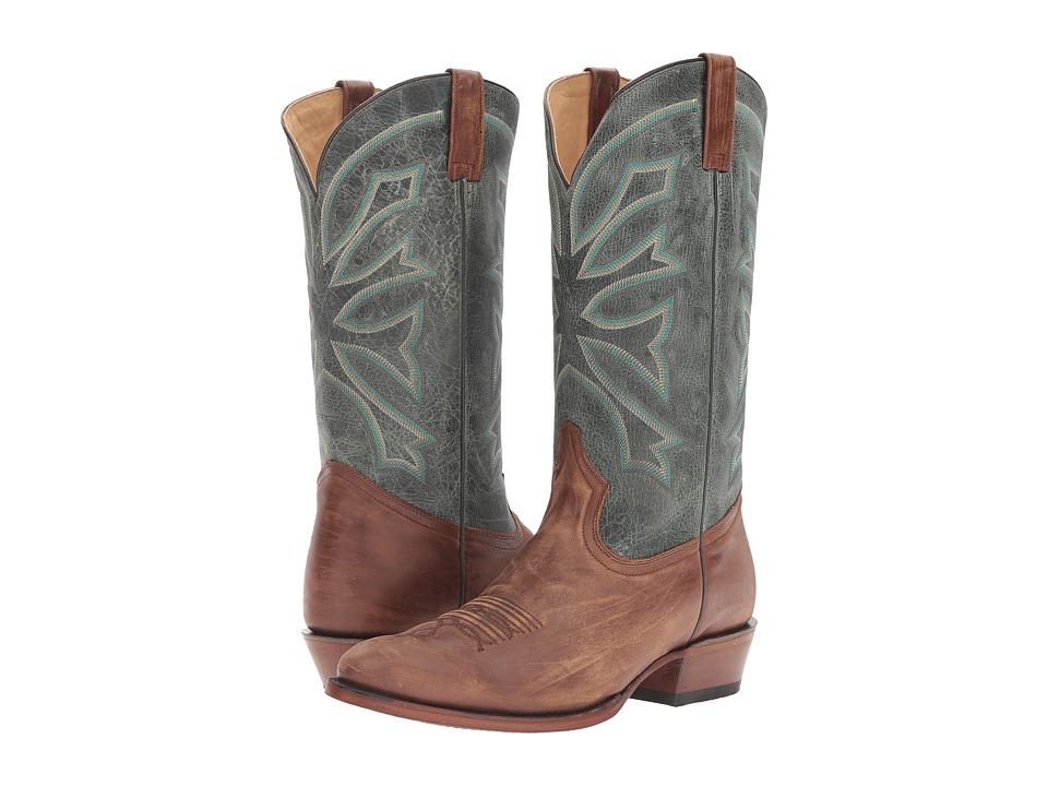 Stetson Gunsmoke (Sanded Brown) Cowboy Boots