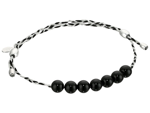 Alex and Ani Onyx Precious Threads Bracelet - Rose