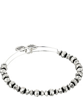 - Canyon Beaded Bangle  Silver