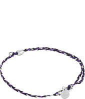 Alex and Ani - Inky Purple Precious Threads Bracelet