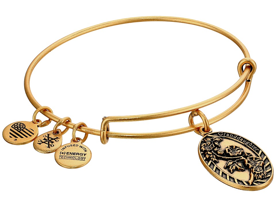 Alex and Ani - Granddaughter II (Rafaelian Gold) Bracelet