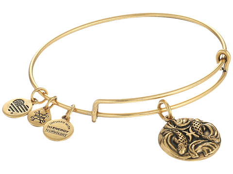 Alex and Ani Pisces III - Rafaelian Gold