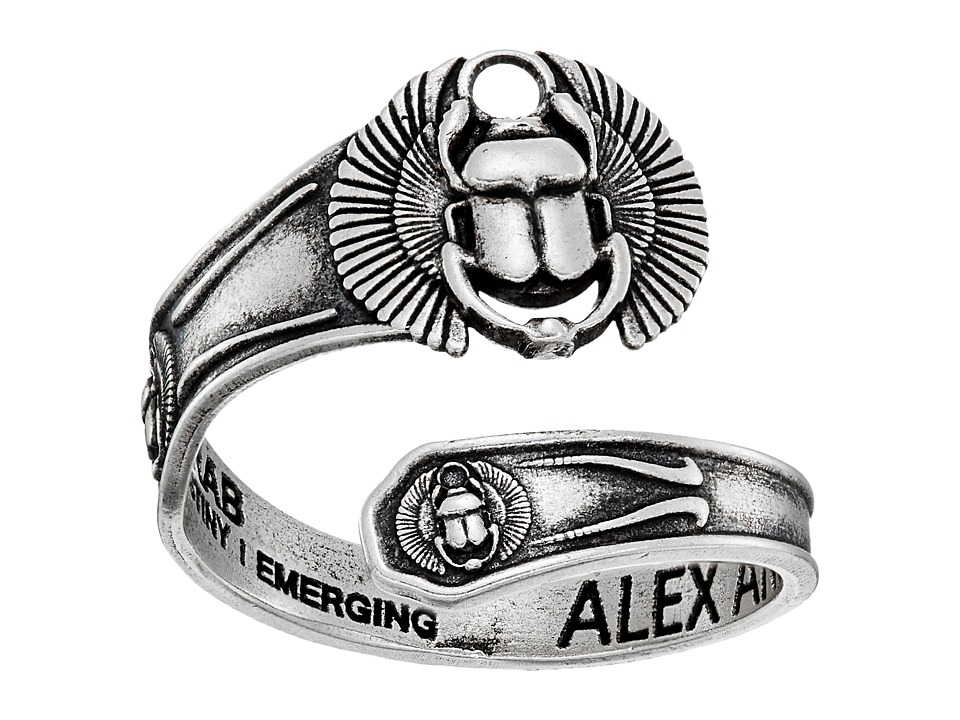 Alex and Ani - Spoon Ring Scarab (Rose) Ring