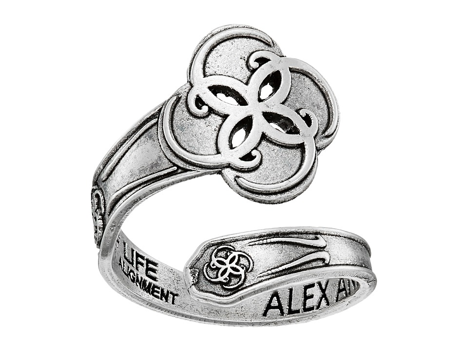 Alex and Ani - Spoon Ring Breath of Life (Rose) Ring