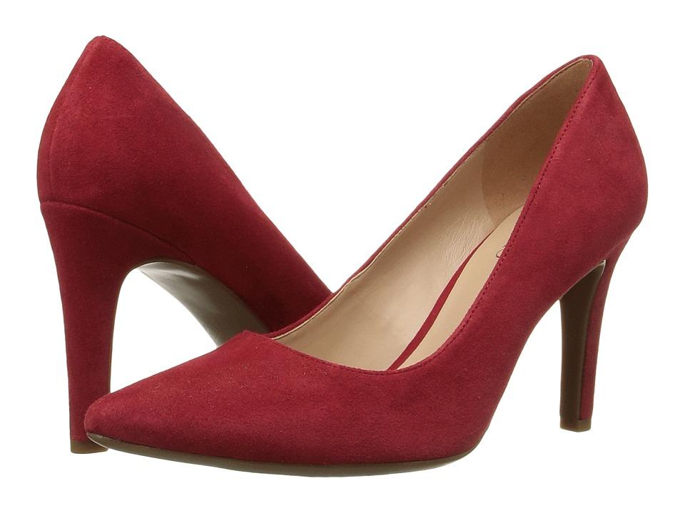 Franco Sarto Amore (Red Suede) Women