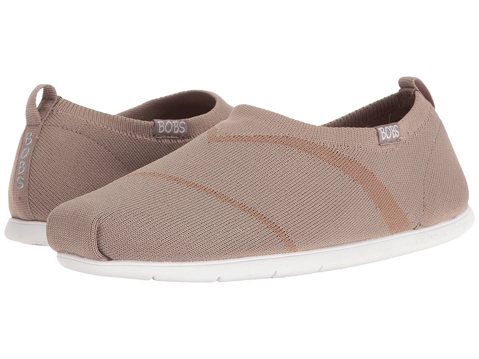 BOBS from SKECHERS Plush Lite Bobby Sox (Taupe) Women