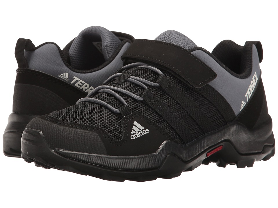 adidas Outdoor Kids Terrex AX2R CF (Little Kid/Big Kid) (Black/Black/Onix) Boys Shoes