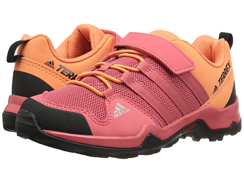 adidas Outdoor Kids Terrex AX2R CF (Little Kid/Big Kid) - Tactile Pink/Tactile Pink/Easy Orange