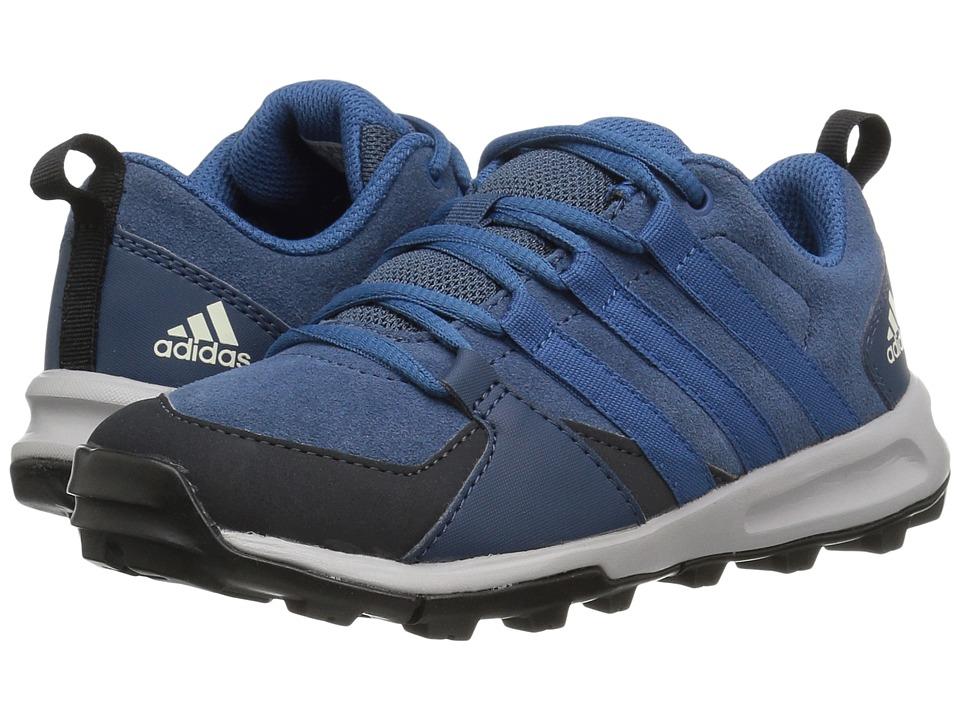 adidas Outdoor Kids Tivid Leather (Little Kid/Big Kid) (Sub Blue/Core Blue/Dark Grey) Boys Shoes
