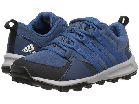 adidas Outdoor Kids Tivid Leather (Little Kid/Big Kid) - Sub Blue/Core Blue/Dark Grey
