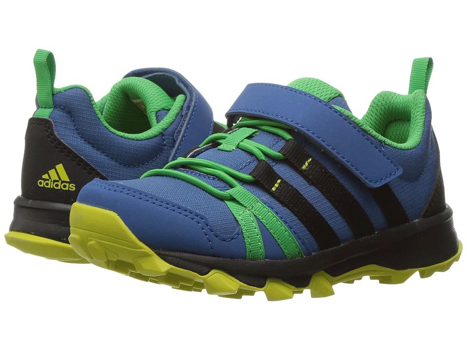 adidas Outdoor Kids Tracerocker CF (Little Kid/Big Kid) (Core Blue/Black/Unity Lime) Boys Shoes