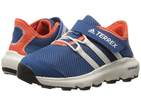 adidas Outdoor Kids Terrex Climacool Voyager CF (Little Kid/Big Kid) - Core Blue/Chalk White/Energy