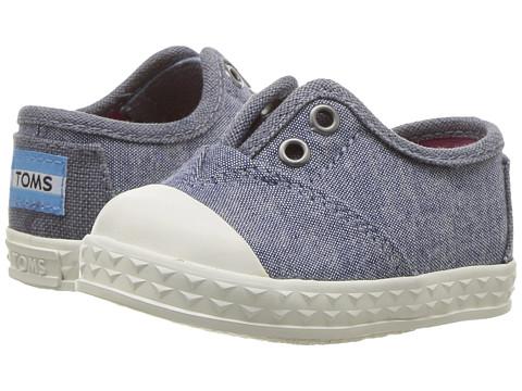 TOMS Kids Zuma Sneaker (Infant/Toddler/Little Kid) - Blue Multi Speckle Chambray
