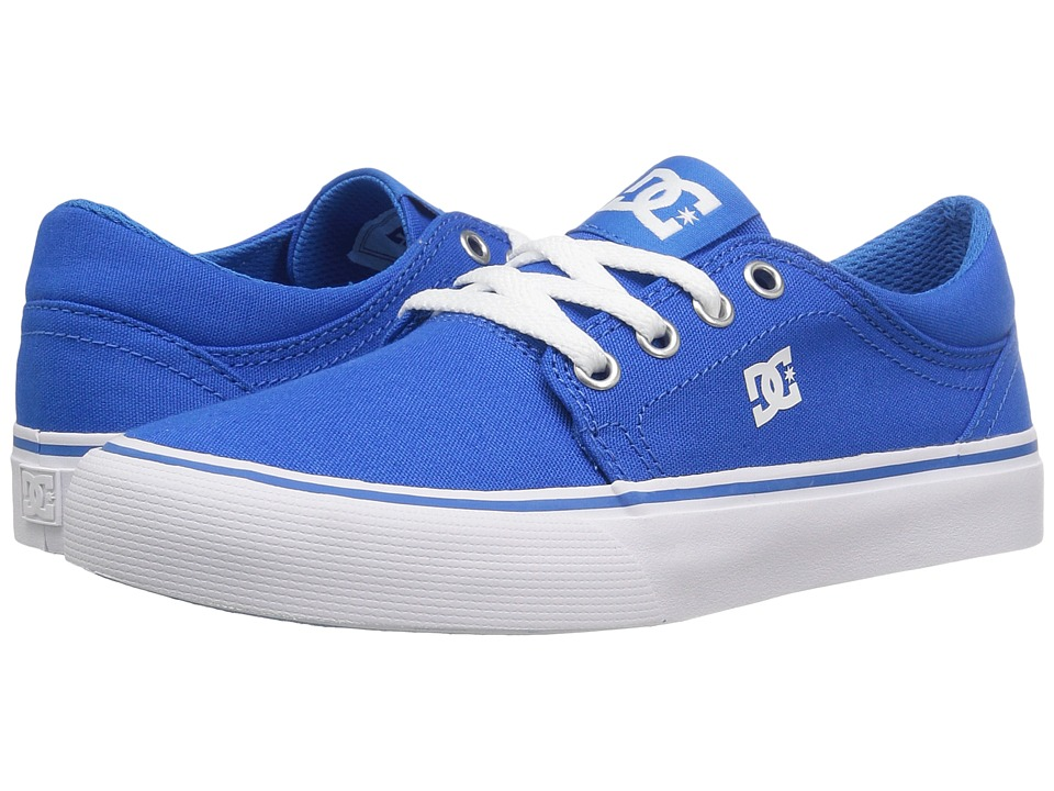 DC Kids Trase TX (Little Kid/Big Kid) (Blue) Boys Shoes