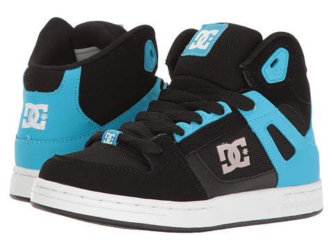 DC Kids Rebound SE (Little Kid/Big Kid) - Black/Blue
