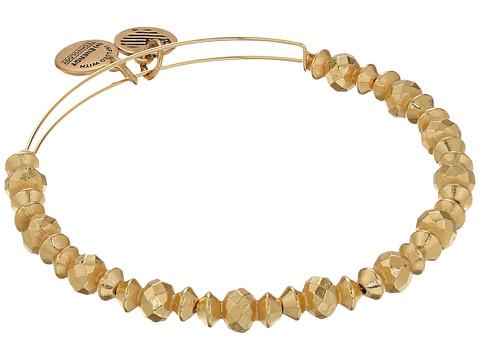 Alex and Ani Canyon Beaded Bangle - Shiny Gold