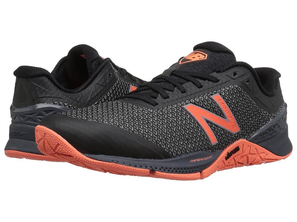 New Balance - WX40v1 (Black/Thunder) Womens Cross Training Shoes