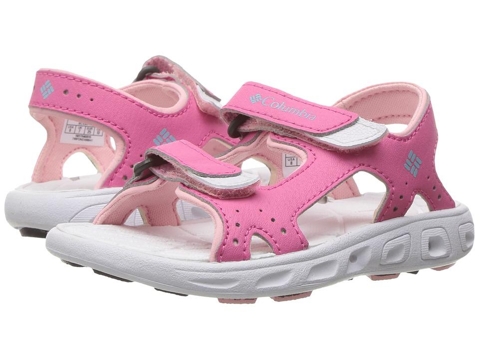Columbia Kids - Techsuntm Vent (Toddler/Little Kid/Big Kid) (Wild Geranium/Cupid) Girls Shoes