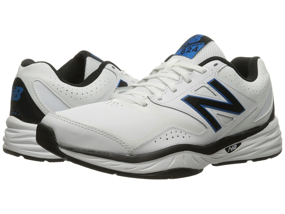 New Balance MX824v1 (White/Placid Blue) Men