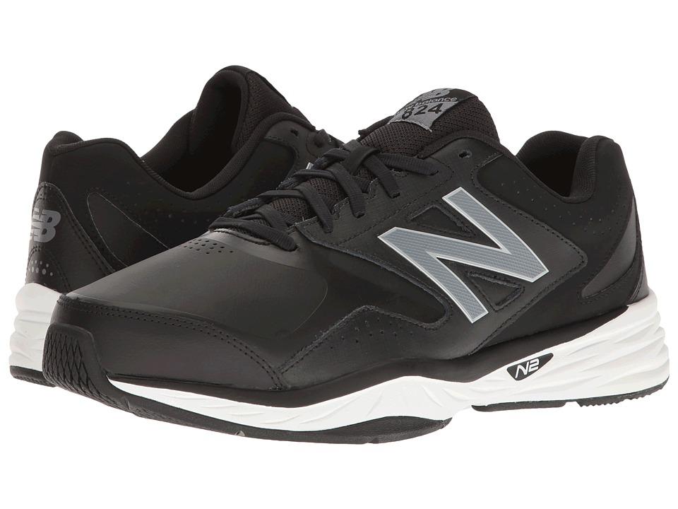 New Balance MX824v1 (Black/Silver) Men